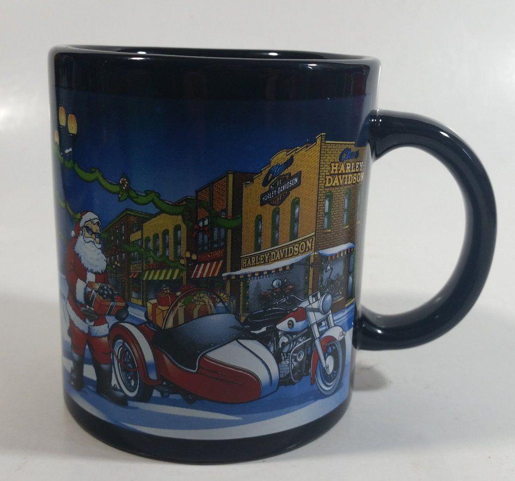 2011 Harley Davidson Motor Cycles Santa Christmas Themed
