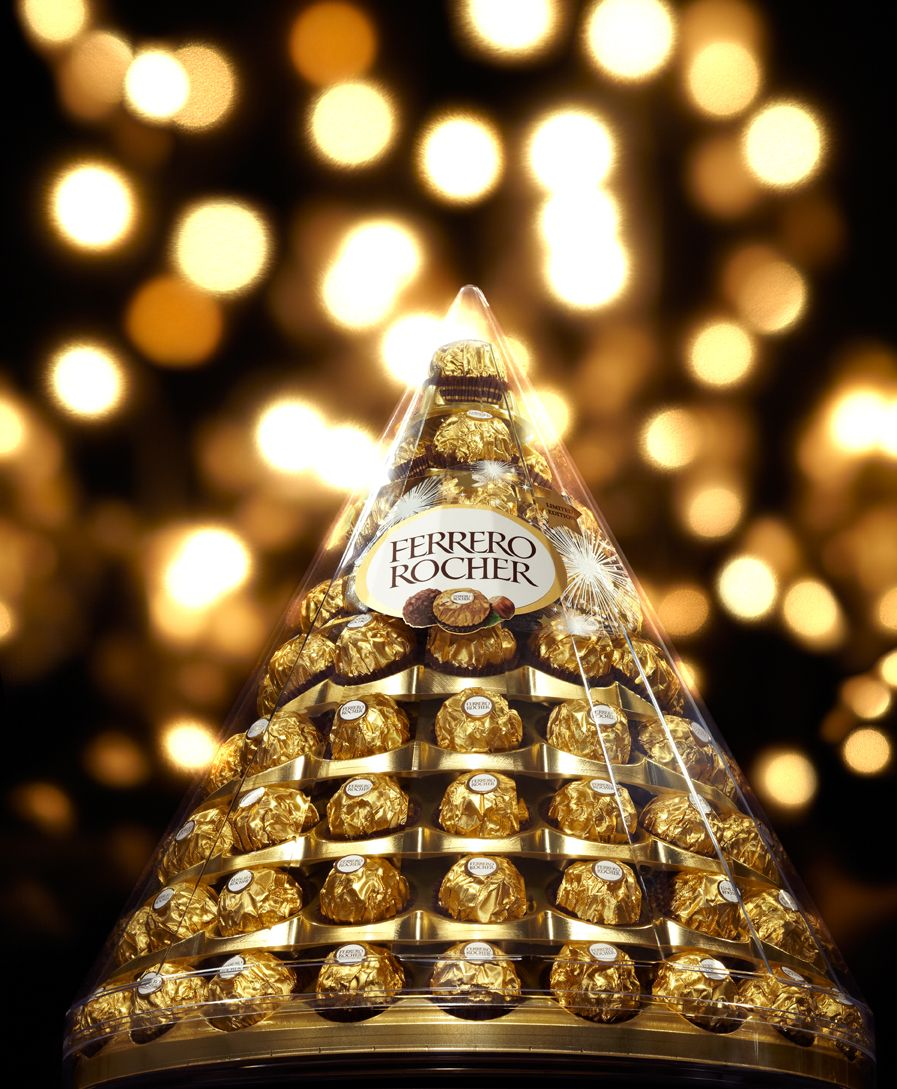Ferrero Rocher= Lets be honest that pyramid wouldn't even