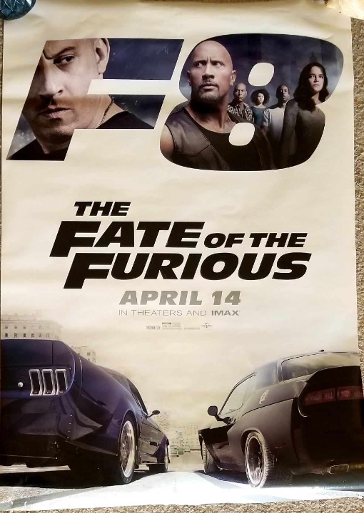 Fast And Furious Movie Poster F8 In 2020 Furious Movie Fast And Furious Movie Posters