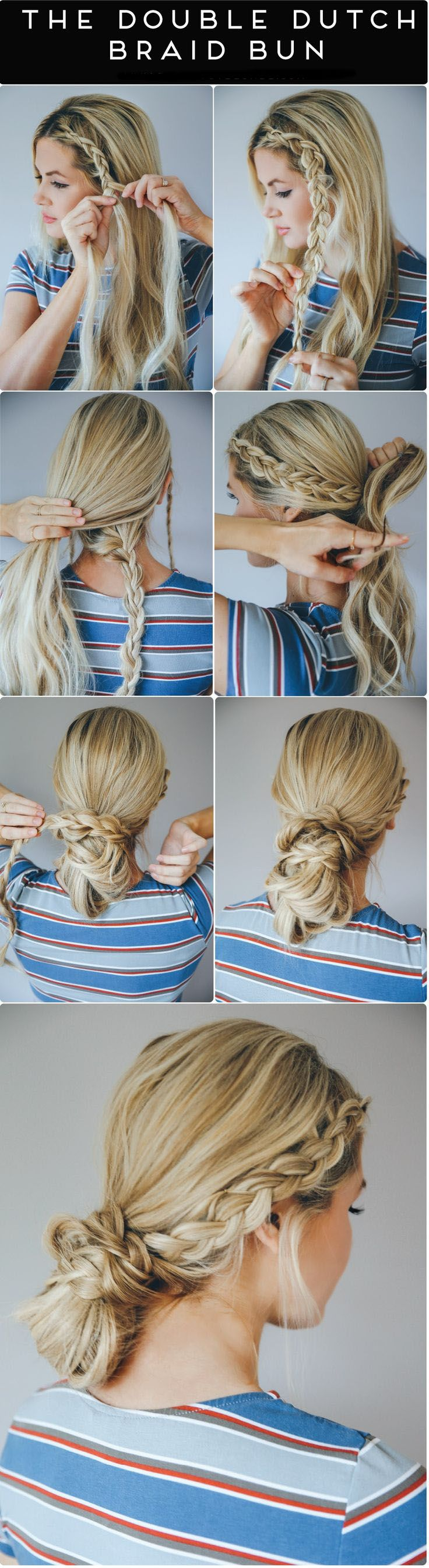 Diy quick u easy hairstyles you can do in less than minutes