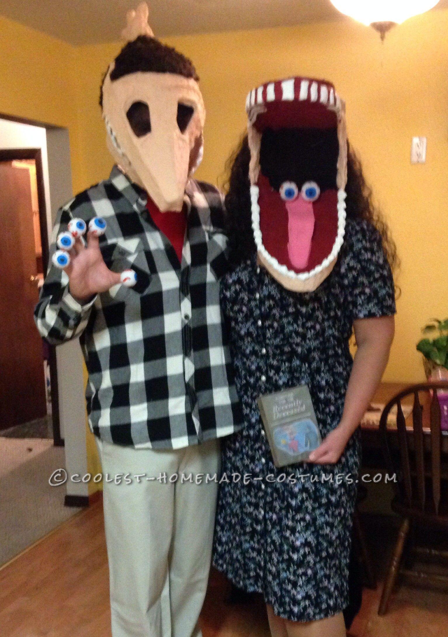 Cool Diy Adam And Barbara Maitland Couple Costume Diy Halloween Costumes Easy Halloween Costumes You Can Make Diy Halloween Costumes