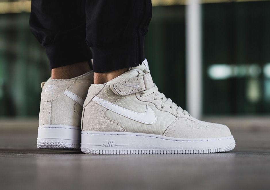 Nike Air Force Mi Womens Costume Blanc