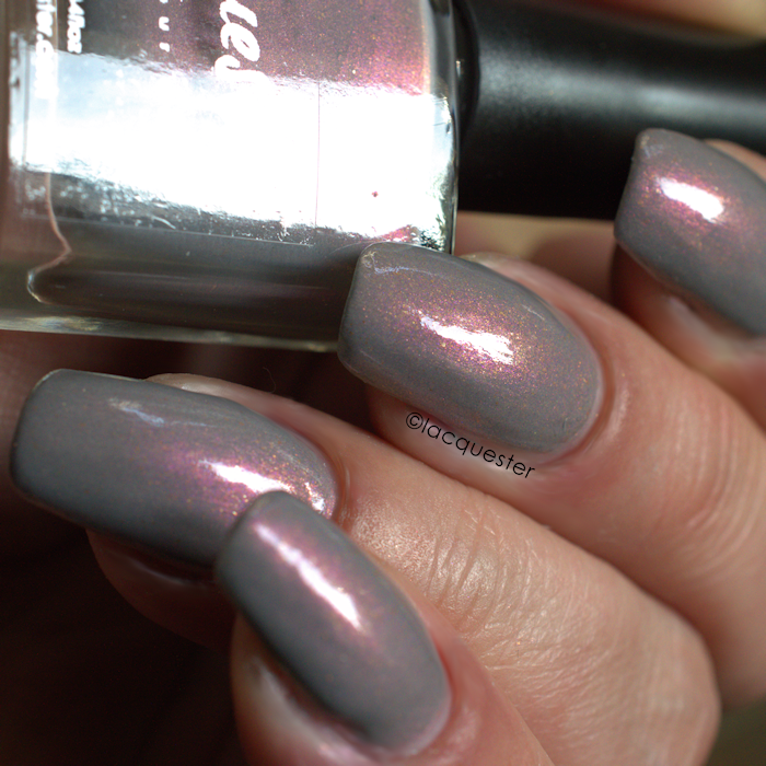 In Search Of Sunrise - A great taupe colored nail polish that has a ...
