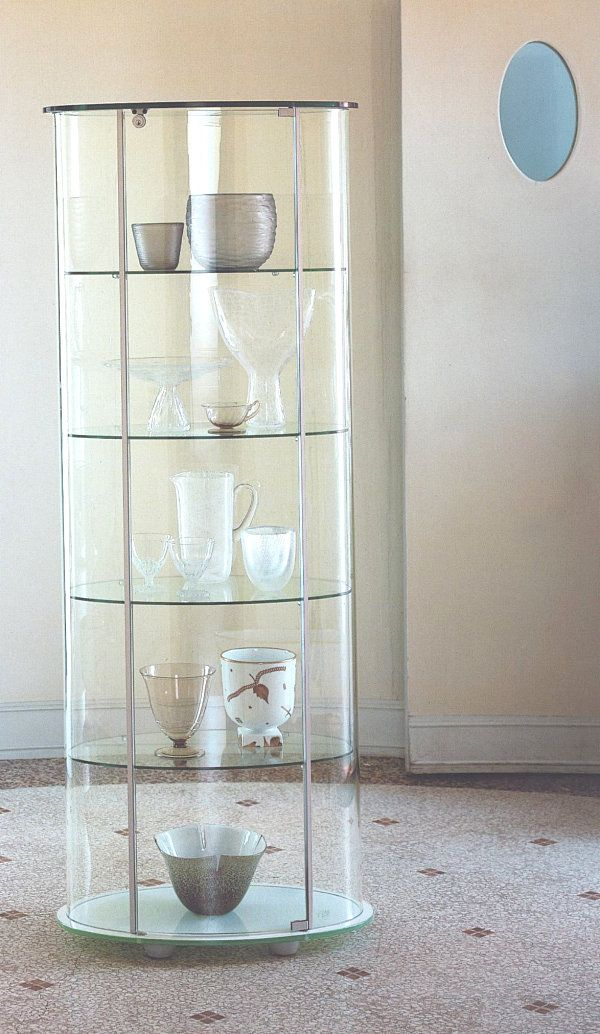 Living Room Cupboard Designs Endearing Glass Cabinets For A Chic Display  Round Glass Cabinet Design Design Inspiration