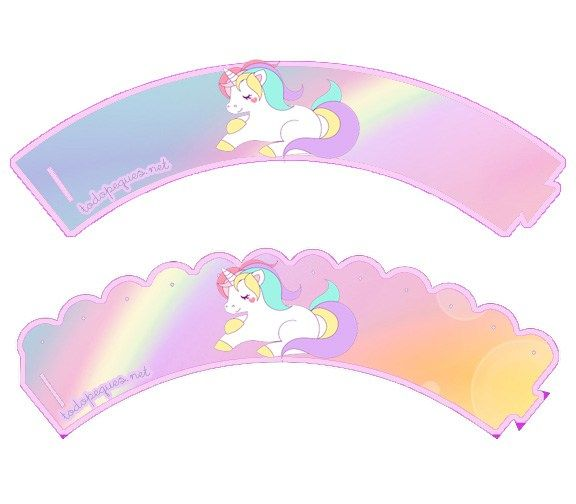 Kit Imprimible De Unicornios Para Descargar Y Personalizar