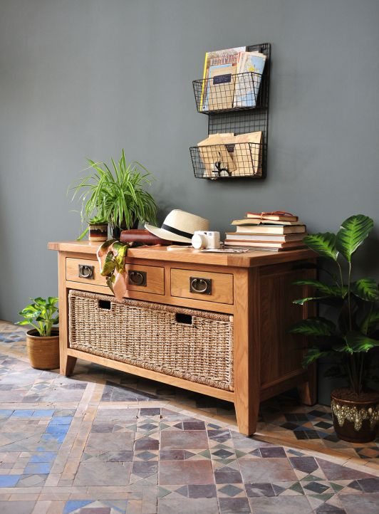 Oak Hallbench Hallway Furniture Montague Range From The Cotswold Company