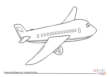 Airplane Colouring Page Airplane Coloring Pages Free Printable