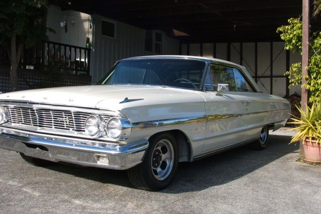 Make: Ford Galaxie Model: 2 door fastback Year: 1964  This car has had a full panel & paint,new brakes,new interior (seat upholstery,carpet,headlining,dashtop),lots of stuff been replaced under the hood. Running a solid lifter 390