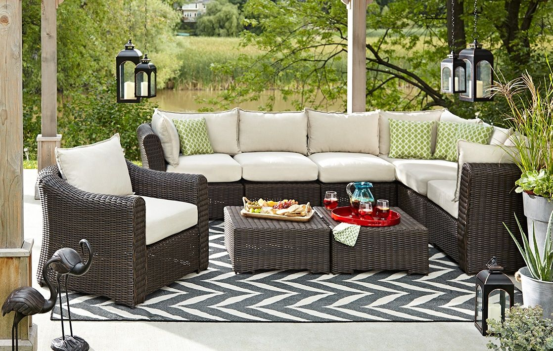 CANVAS Salina Collection Sectional Chairs Luxe Lounge