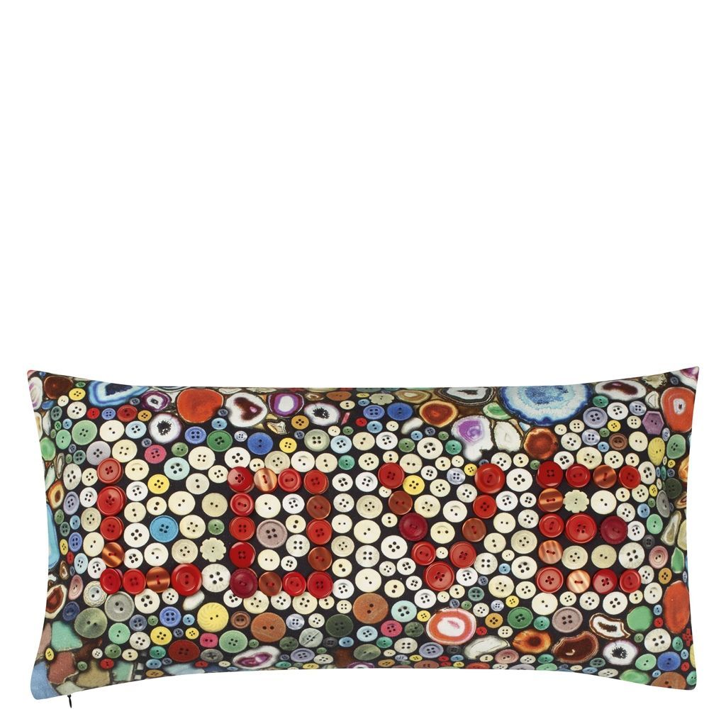 Christian Lacroix Love Multicolore Throw Pillow | Designers Guild ...