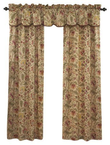 Waverly Imperial Dress Window Panel Antique By Waverly 24 99 3