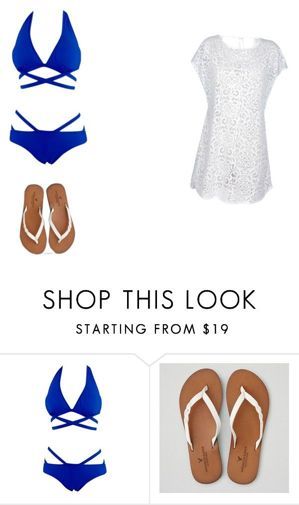 """""""day at the beach"""" by andsam on Polyvore featuring American Eagle Outfitters, women's clothing, women, female, woman, misses and juniors"""