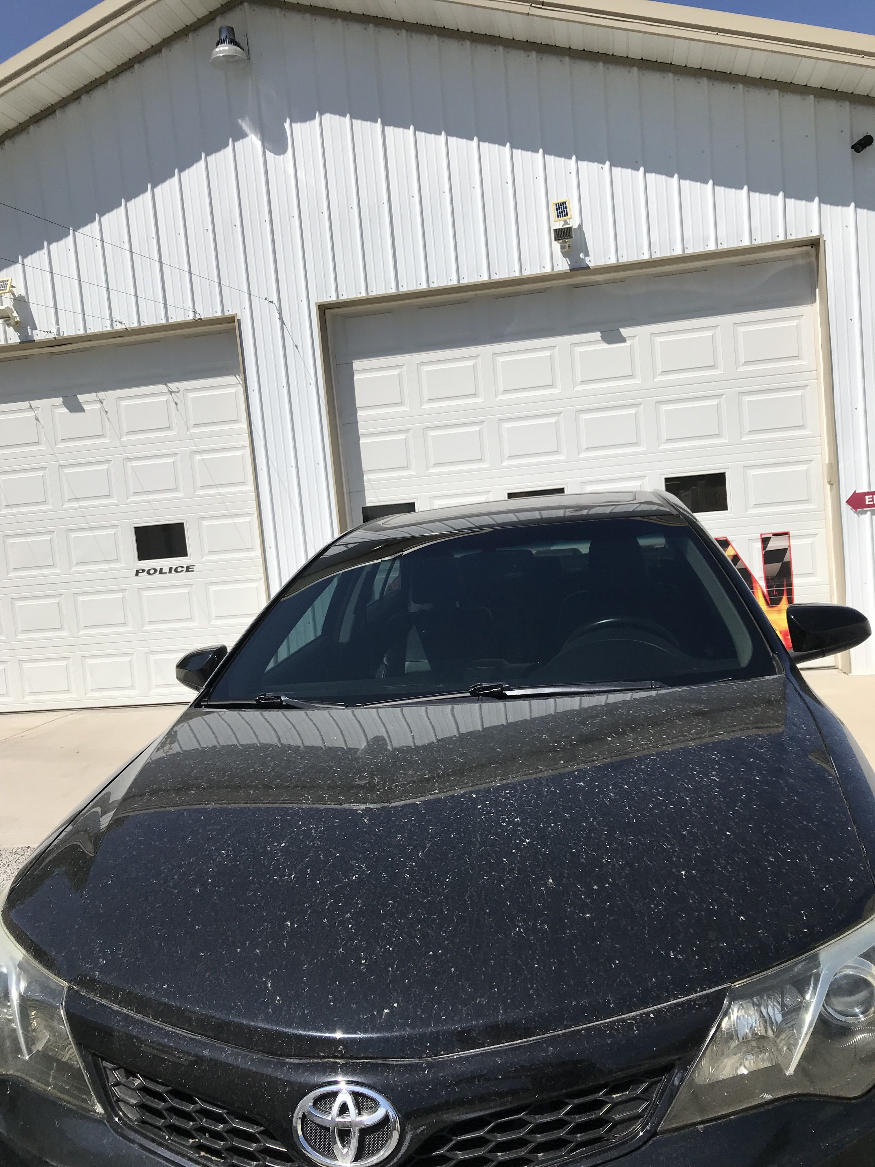 Front Window Tint >> Just Tinted This Whole Front Windshield On This Toyota Camry