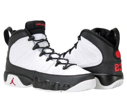 a9b4a4f7a86 Nike Air Jordan 9 Retro BG Big Kids Basketball Shoes Size 4