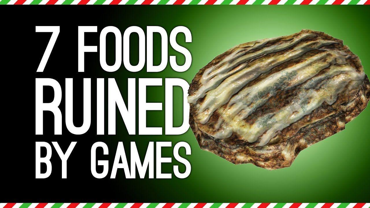 7 festive foods ruined by being disgusting in video games