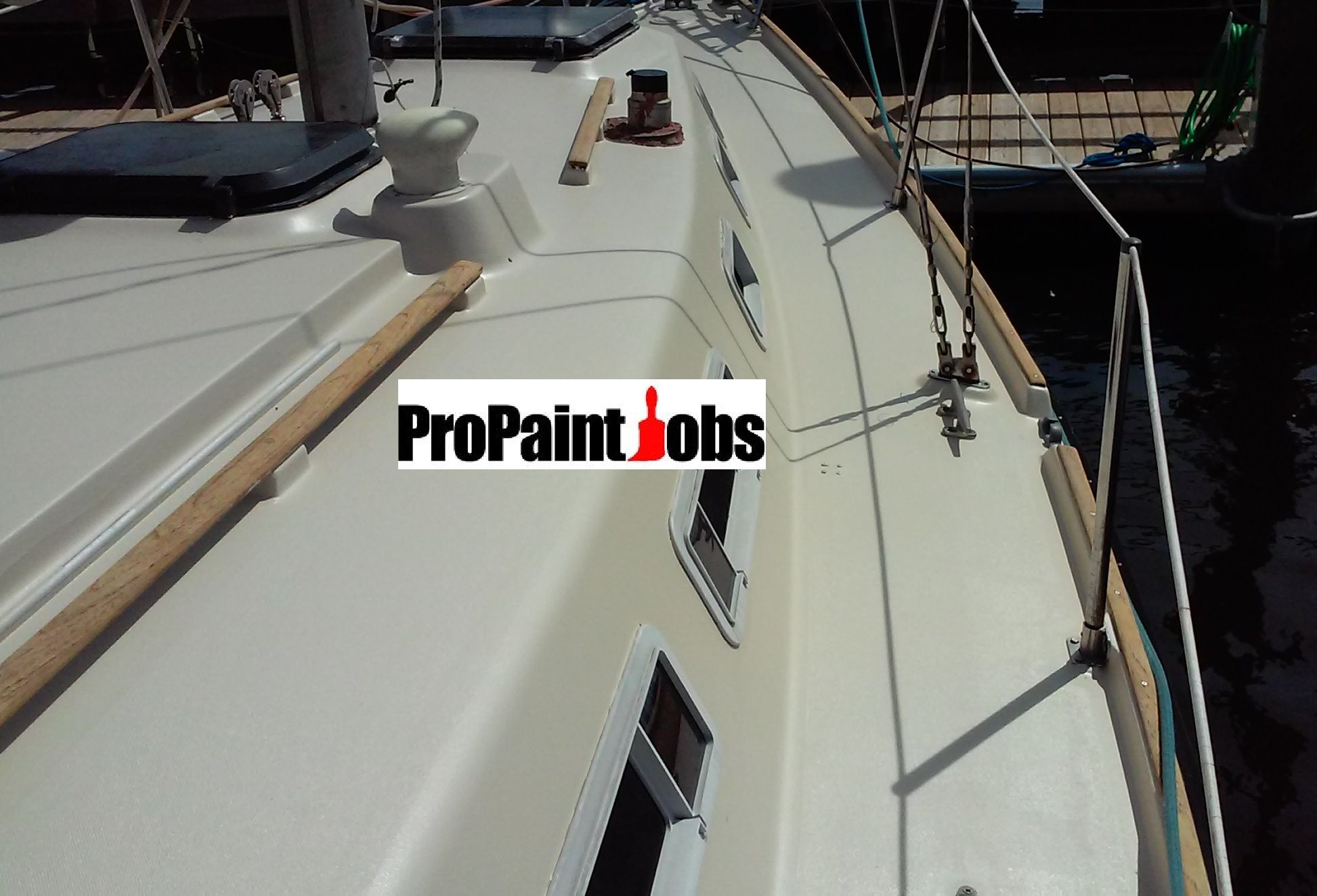 Bringing New Meaning To Swabbing The Deck Propaintjobs Brooklyn Staten Island Nyc Staten Island Brooklyn Nyc