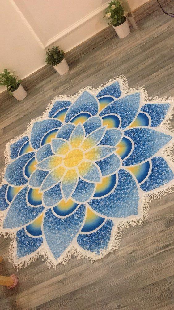 round travel price gaiam cute slip yoga print rubber bag pattern fantastic beach thick mandala mats mat natural target non best