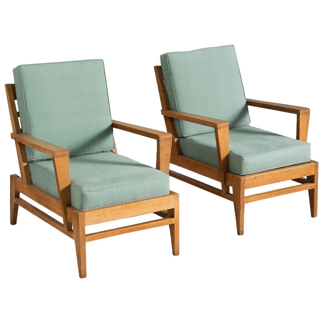 Rene Gabriel Lounge Chairs In Solid Oak Chairs Pinterest Chair