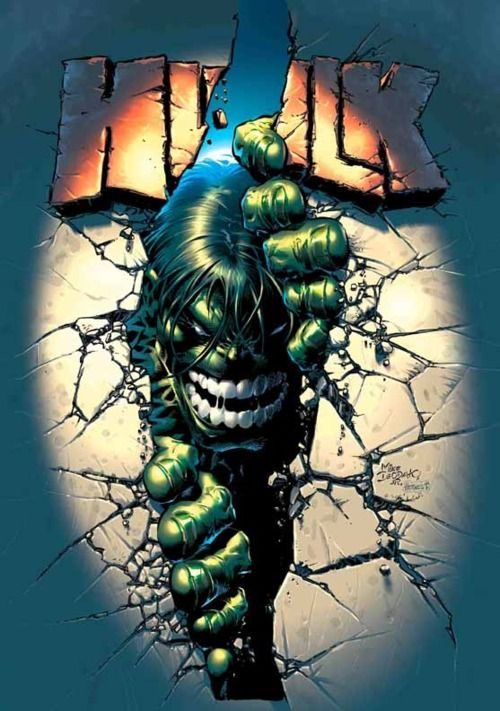 Mike Deodato Jr - Hulk