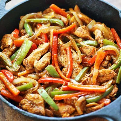 Easy Chicken Fajitas images