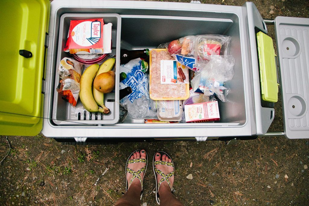 Igloo Trailmate Cooler keeps all your essentials organized—The Science of Setting High Expectations by Dirtbag Darling
