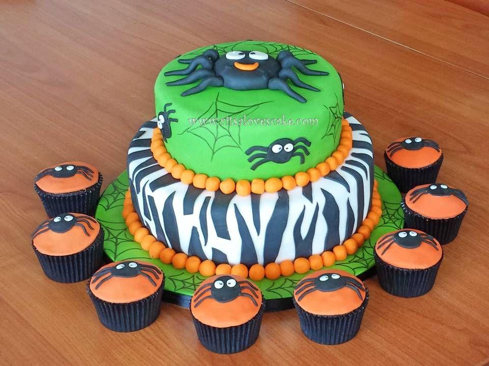Halloween - Halloween Spider cake Halloween Cakes, Pops - decorating halloween cakes