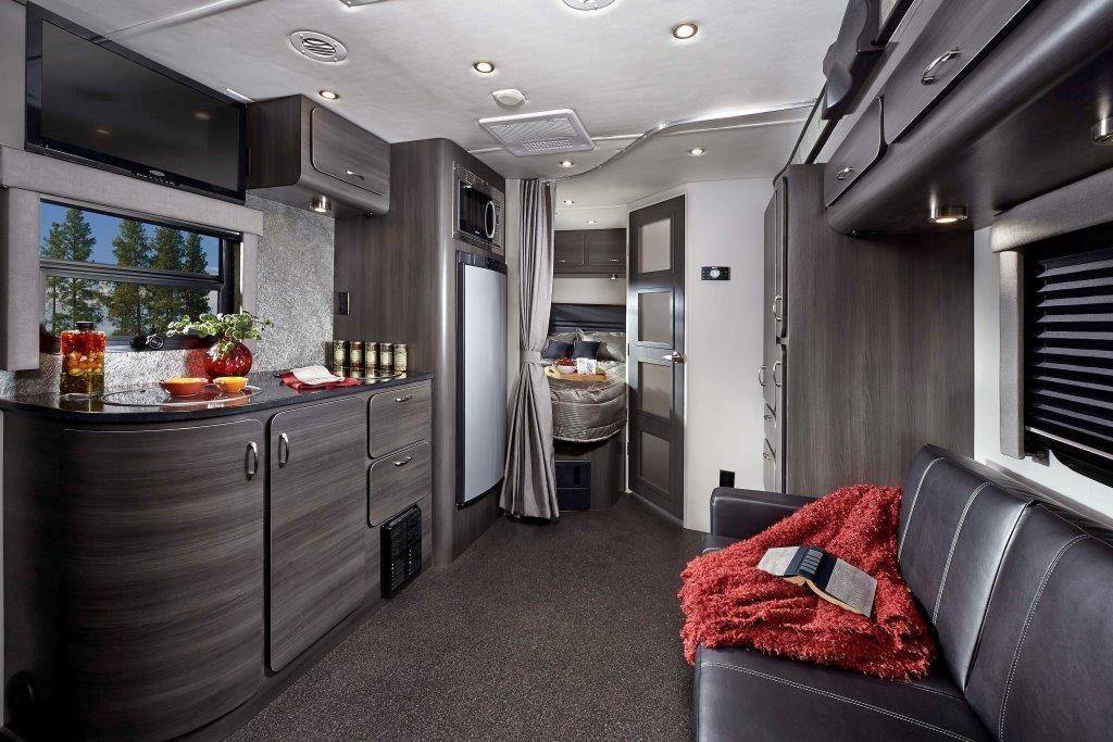Small Class C Motorhome Interior Upscale Interior In