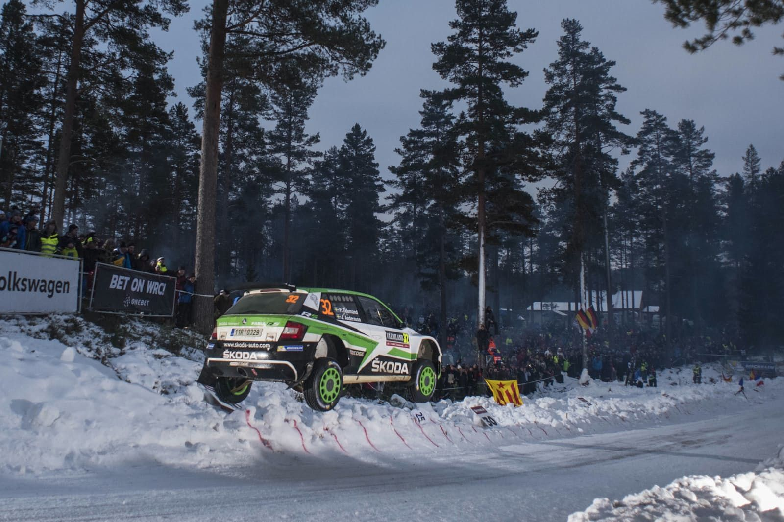 WRC DAY 2 OF THE 2017 RALLY Sweden DRIVETRIBE Rally