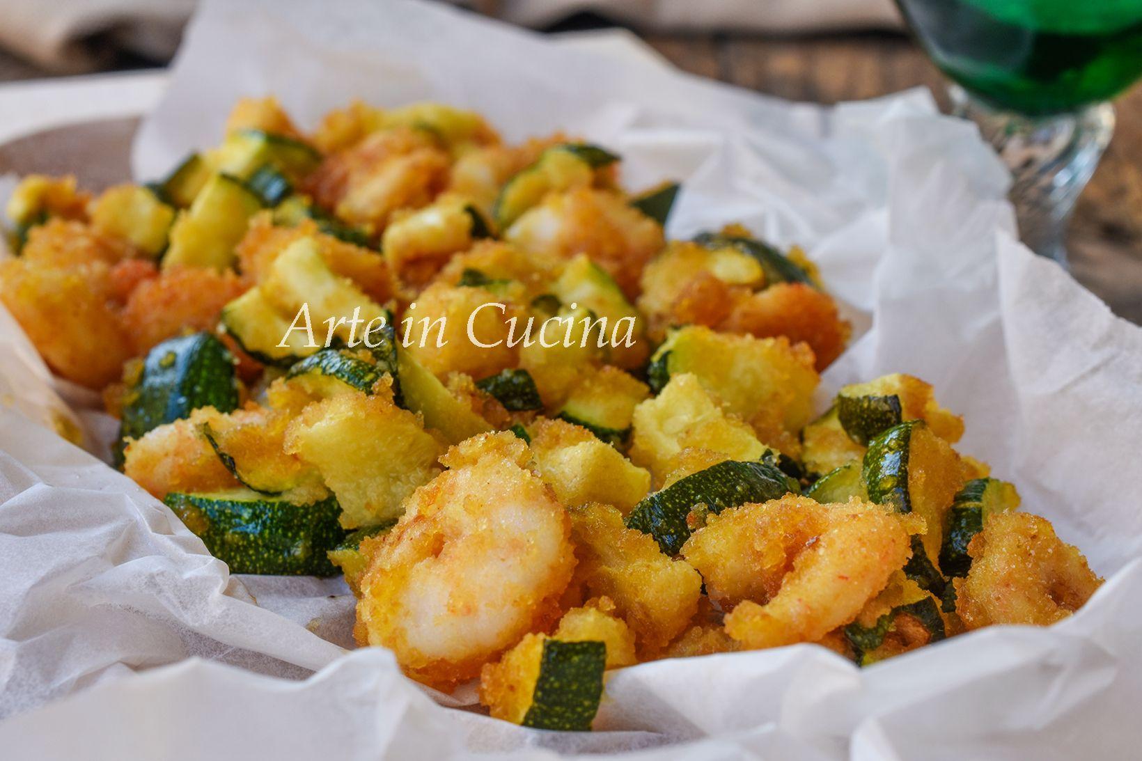 Diete Veloci E Facili : Zucchine e gamberetti gratinati in padella ricetta veloce e facile