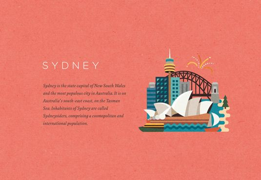 Beautiful vector art showcases best of Australia | Illustration | Creative Bloq