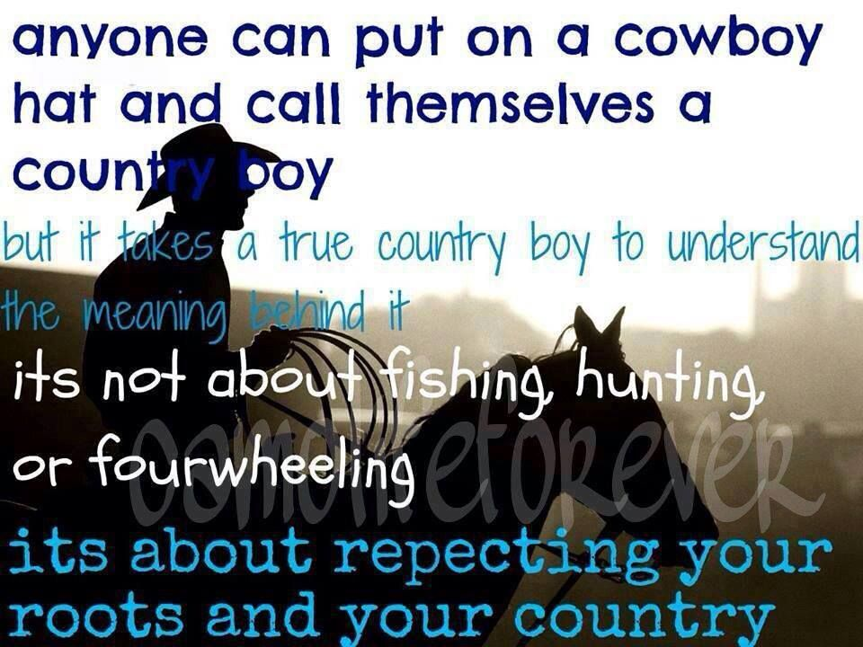 This is so true!!! There only a hand full of actual county ...