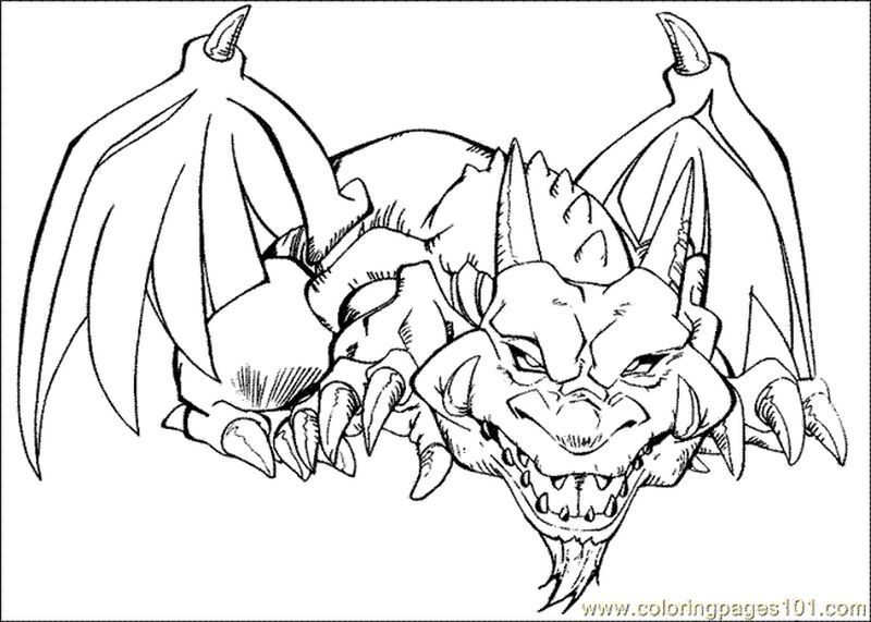 Yugioh Colouring Pages Pdf In 2020 Super Coloring Pages Dragon Coloring Page Coloring Pages