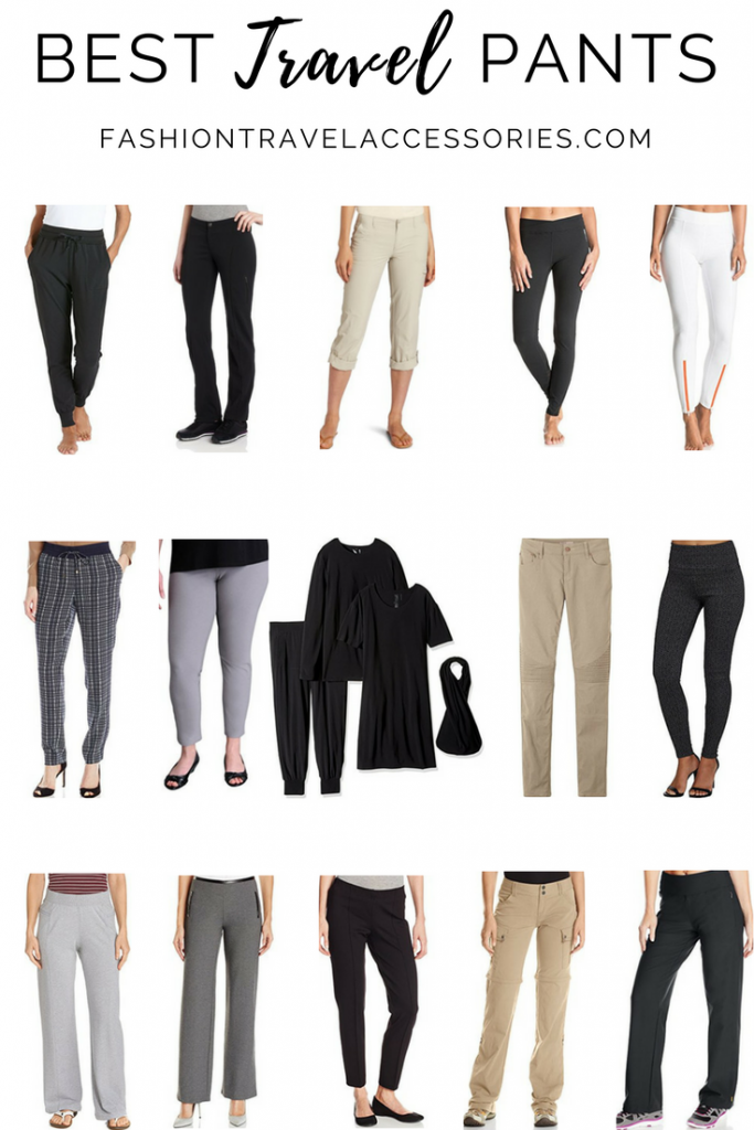 2019 best travel pants for women  comfortable functional