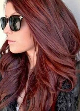 Hair Colour Trend 2015 Summer   Red