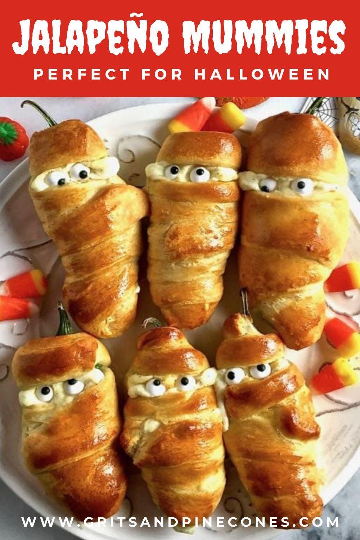 Easy Halloween Party Recipe Jalapeño Mummies