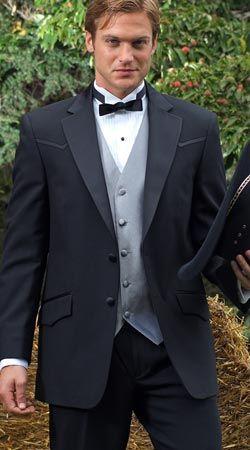 Tuxedo Junction Catalog - BLACK Tuxedo - Belmont By Oleg Cassini