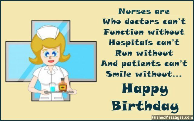 Motivational Birthday Greeting Message For Nurses