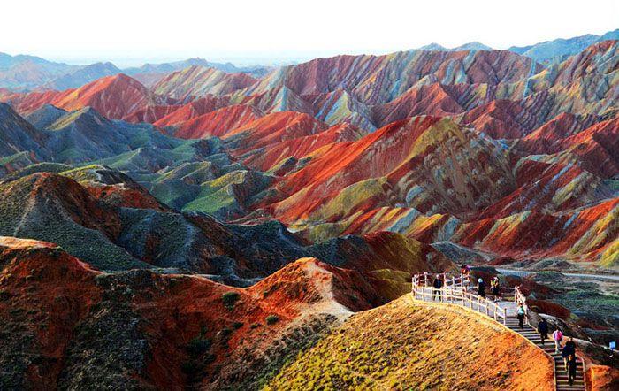 19 Lugares en el mundo que no parecen reales, pero lo son. ¡Precioso!