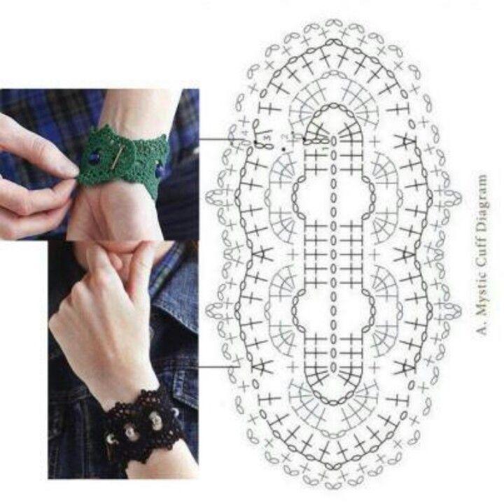 Pin de Anamaria T-D en Crochet | Pinterest | Collares crochet ...