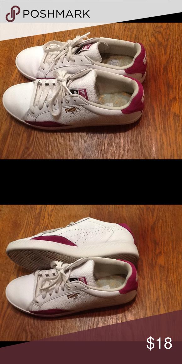Women s Tennis Shoe Puma match in excellent condition a true 5 size 10 Puma  Shoes Athletic Shoes 3da0d8f8db