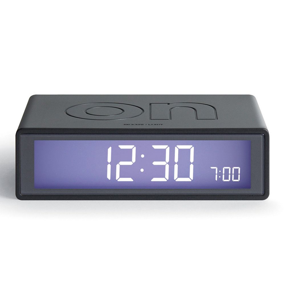 Add a playful touch to your home with this Flip Mineral clock from Lexon. This charming alarm clock features an on and off face with a reversible alarm display, perfect for ensuring your mornings s...