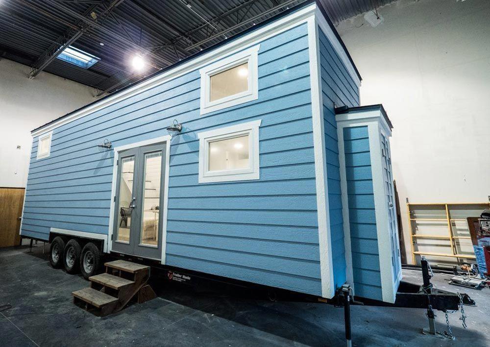 Built by Arizona based Free2Roam Tiny Homes is the Hekkert Hideaway
