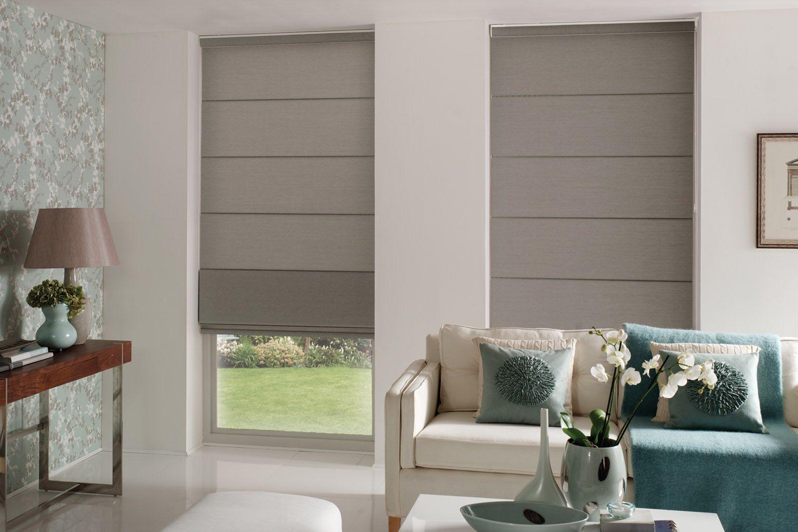 Wohnzimmer roller ~ Modern roller blinds romantic decor modern roller blinds modern