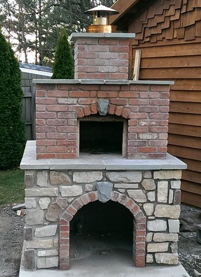 Wood Fired Outdoor Brick Pizza Oven By The Hillman Family