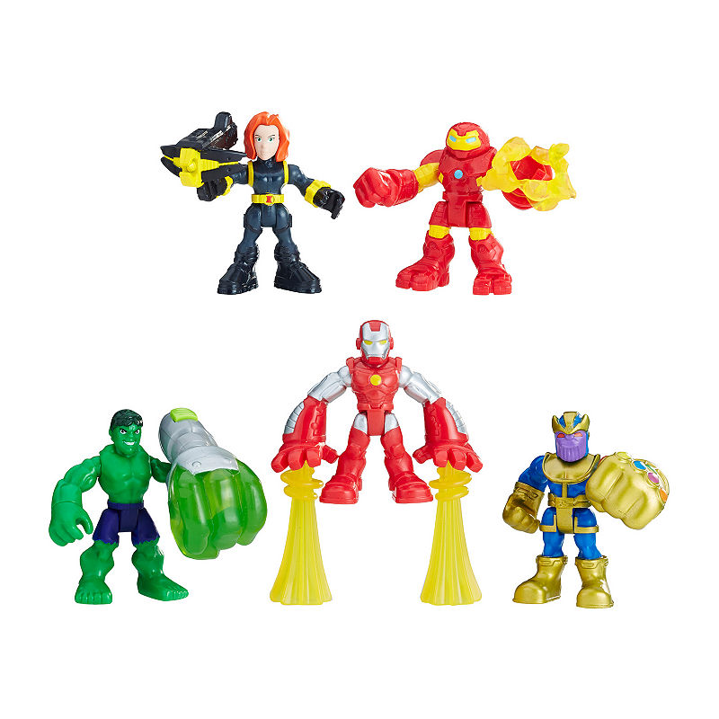 "HOT SALE Boys Girls Kids Gift Movie Toy MARVEL SUPER HERO SQUAD 2/"" ACTION FIGURE"