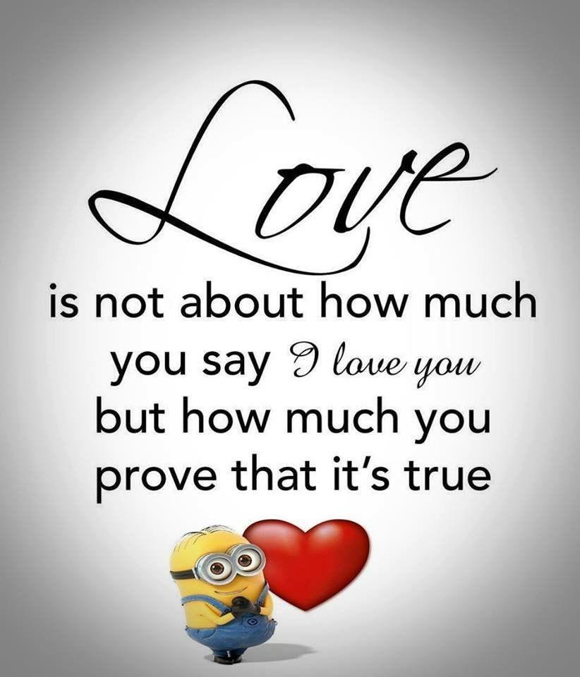 True Love Minions Quotes Minion Quotes Quotes