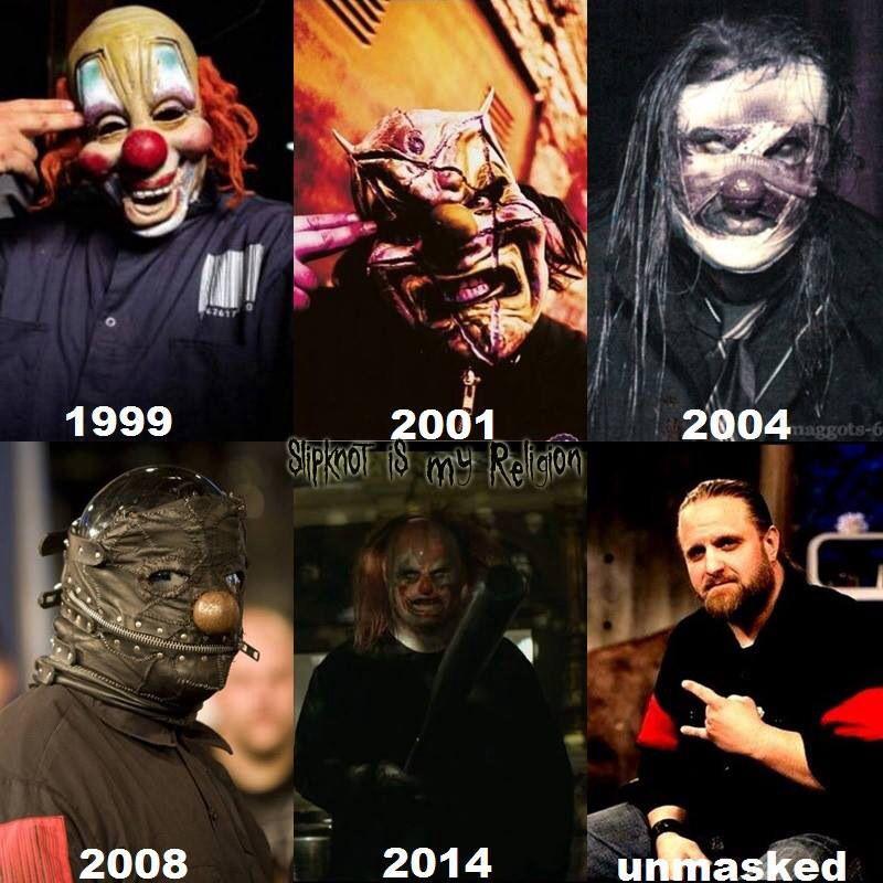 Years Slipknot Over Masks