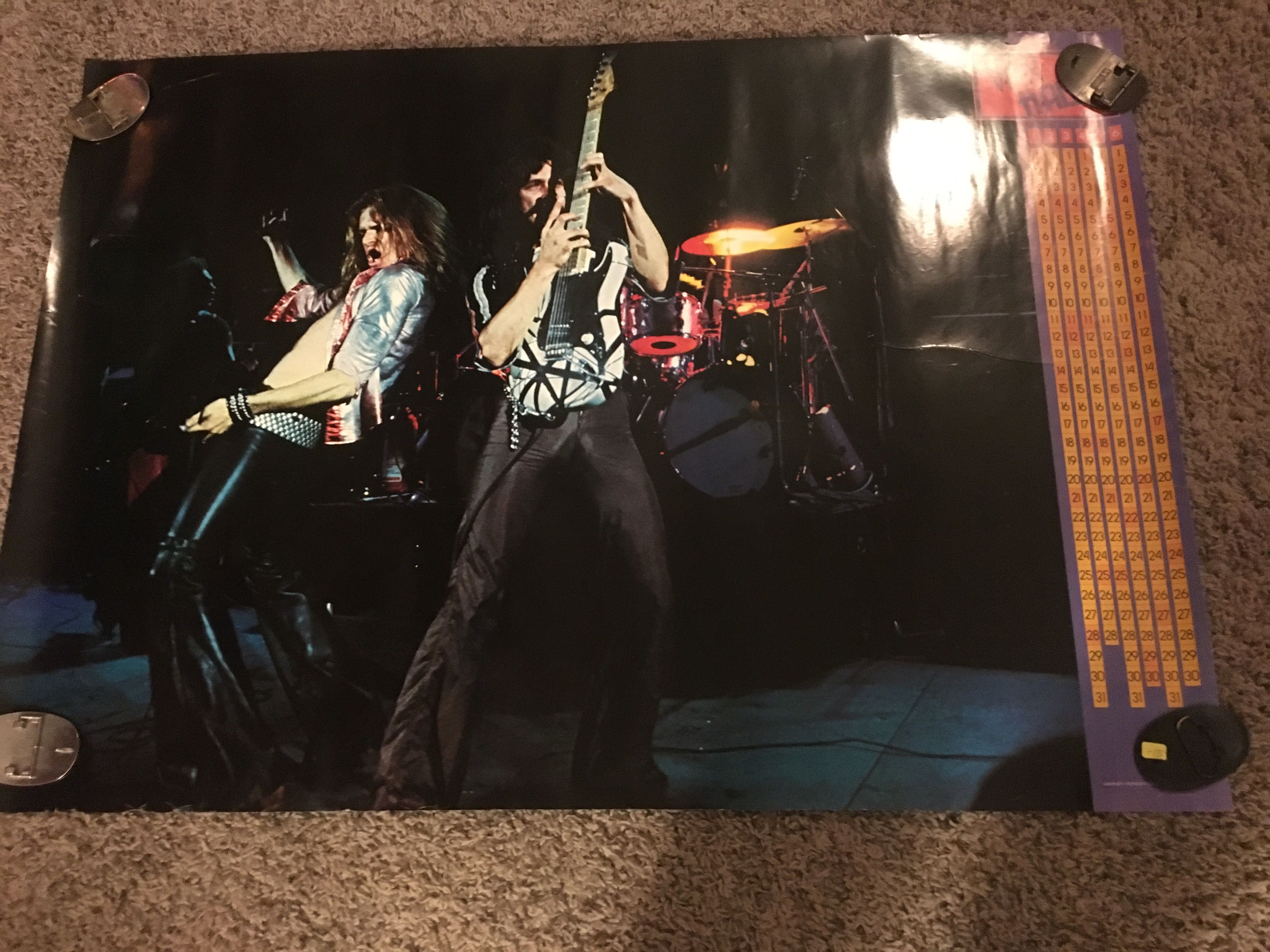1978 Japanese Warner Bros Promo Poster For Debut Album Very Rare 29x42