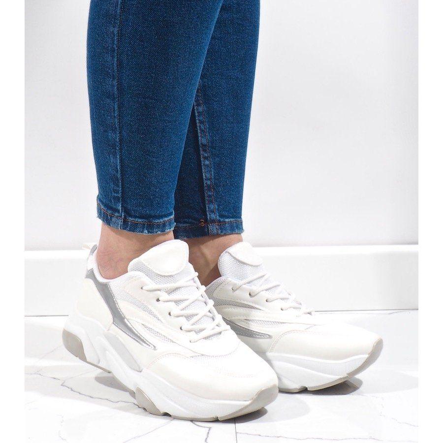 Biale Sneakersy Sportowe Sx001 9 Sneakers Shoes White Sneaker