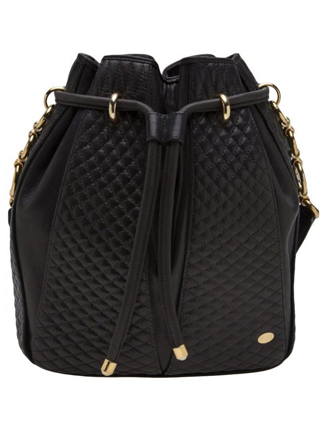 Bally Quilted Drawstring Bag 3